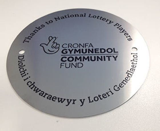 Circular wall plaque (150mm)
