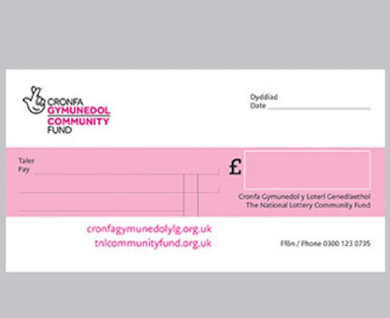 Acknowledgement cheque