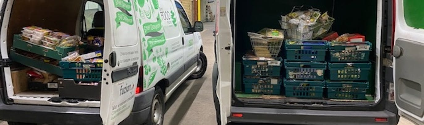 How a morning off work led to Dom's Food Mission & 40 tons of surplus food