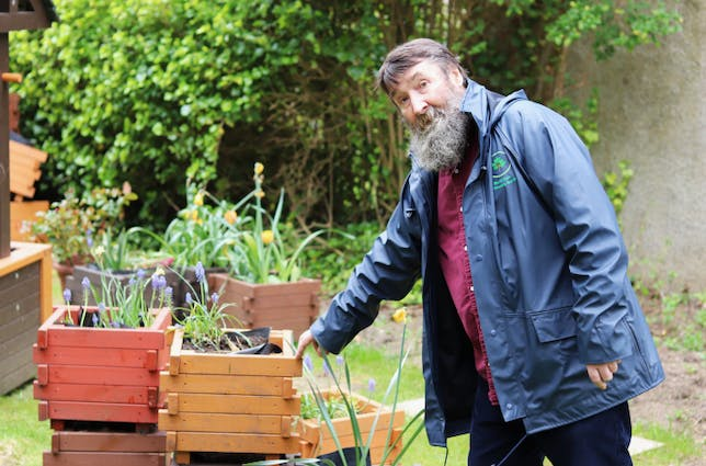 Blooming marvellous: how one man found peace in plants