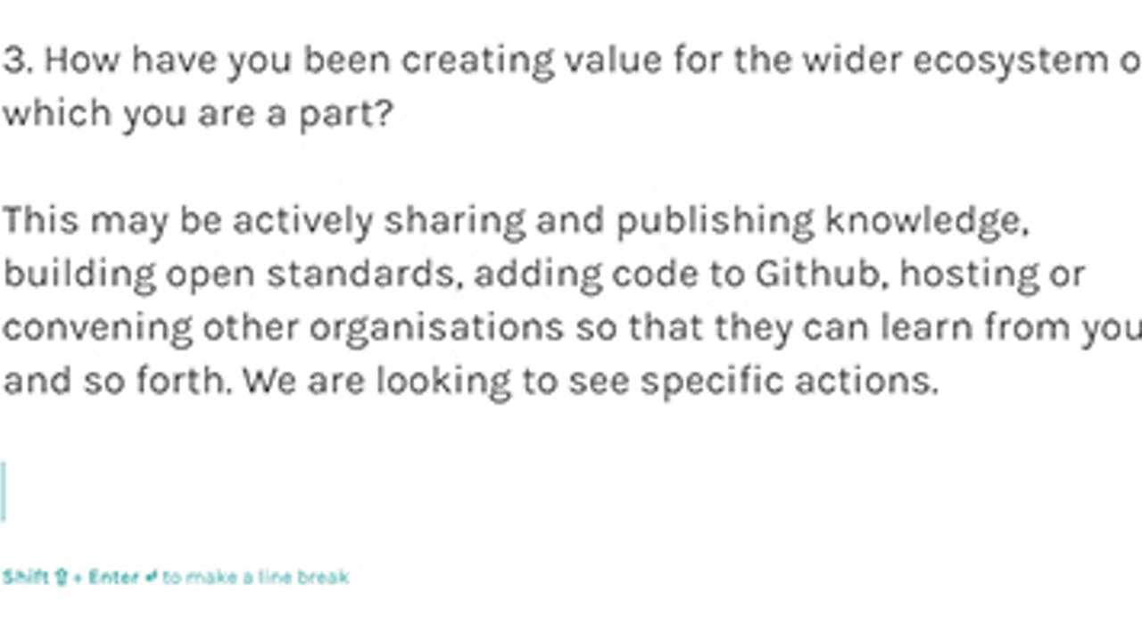 Sharing the learning from the Digital Fund — monthly sense-making around a theme